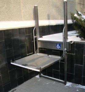 Электрические подъемники для инвалидов